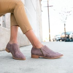 NEW ARRIVAL Mi.iM Ashley Booties In Lavender